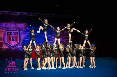 Reign Athletics: Cheerleading Team